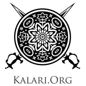 Original Kalari.org Sword and Shield Logo