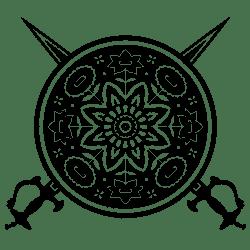 Kalari.org Sword and Shield Symbol
