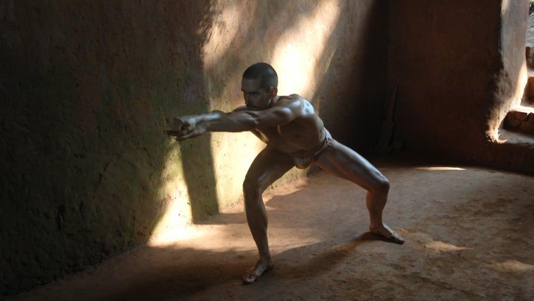Kai Hitzer praciting Kalari Arapukai Water Form